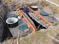 Септик для высоких грунтовых вод на 9-14 чел.