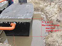 Септик для высоких грунтовых вод на 15-20 чел., фото 5