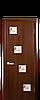 Дверь межкомнатная РОНДА СО СТЕКЛОМ САТИН И РИСУНКОМ Финиш бумага, фото 2