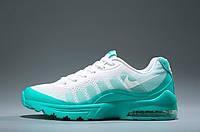 Кроссовки женские Nike Air Max 95 Invigor White/Green (найк аир макс)