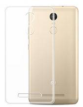Чехол накладка силиконовый TPU Remax 0.2 мм для Xiaomi Mi5s Plus прозрачный