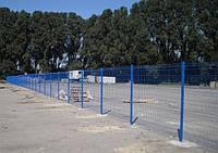 Забор,ограждение Рубеж 1,8. Сетка сварная оцинкованная с полимерным покрытием.