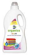 Гель для стирки  цветного белья Organics COLOR