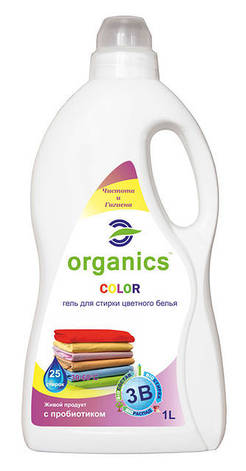 Гель для стирки  цветного белья Organics COLOR, фото 2