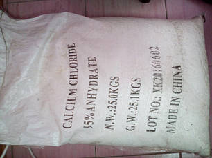Хлорид железа, хлористый кальций