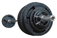 Штанга наборная олимпийская 203.5 кг 2.2 м, фото 1