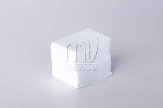 Безворсовые салфетки 6х4см, блок плотные
