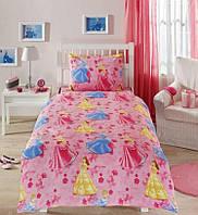 Детское постельное белье Принцессы Диснея, детский комплект (бязь)