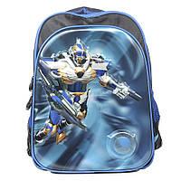 Модный школьный рюкзак для мальчика - Трансформеры - 87-1275