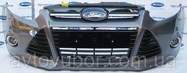 Бампер передний комплектный Ford Focus MK3 08-12