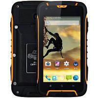 Смартфон Jeep F605  4,5 дюйма, 2 сим, 2 ядра, 5 Мп, 12000 мА/ч, защита  IP68.