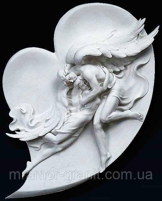 Рельефная скульптура из мрамора С - 129