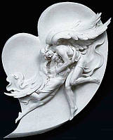 Рельефная скульптура из мрамора