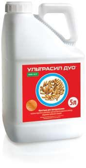 Протравитель Ультрасил Дуо (Скарлет), Укравит; имазалил 100 г/л+тебуконазол 60 г/л, пшеница, ячмень, соя, рапс