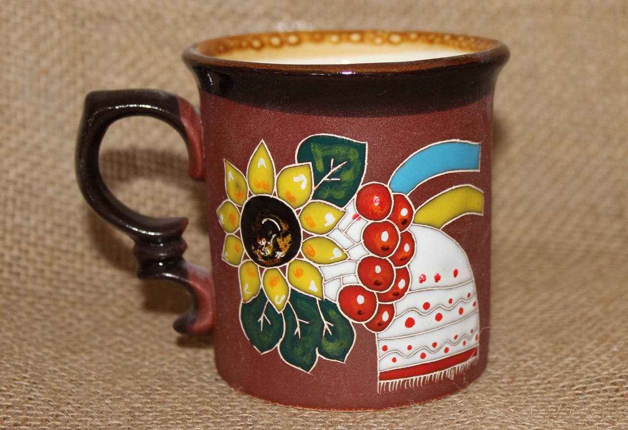 Чашка керамическая «Рушник»