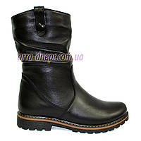 """Зимние кожаные женские ботинки от производителя  ТМ """"Maestro"""""""