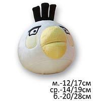 """Мягкая игрушка Злые птицы """"Angry Birds"""" Матильда, белая средняя, 16см, 525"""