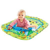 Коврик для младенца, 75*60см, подушка, погремушки, JJ8821