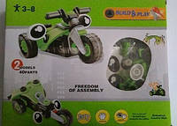 """Конструктор """"Мотоцикл"""" гибкий, 2 модели, 40 детали, 2555-34"""