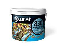 Фасадная акриловая краска АКУРАТ 830 высоконаполненная supermatt