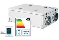 Verso-CF-900-F-HW/DH вентиляционная установка с высокоэффективным пластинчатым теплоутилизатором