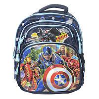 Модный школьный рюкзак для мальчика - Мстители - 87-1278