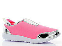 Кроссовки розового цвета для девушек