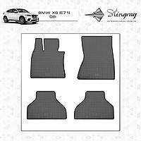 Коврики резиновые в салон BMW X6 (E71) с 2008 (4шт) Stingray