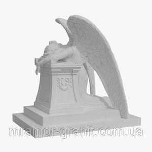 Скульптура скорбящего ангела С - 147