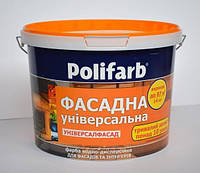 Краска УНИВЕРСАЛФАСАД ТМ Polifarb 1,4кг