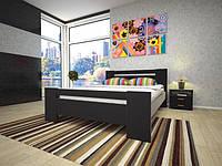 Кровать Изабелла 1. Кровать двуспальная из дерева