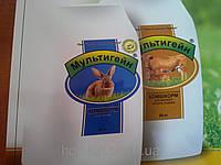 Комбкорм для кролів тм Мультигейн