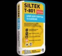 Клей для плитки и камня универсальный SILTEK Т-801 (25кг)