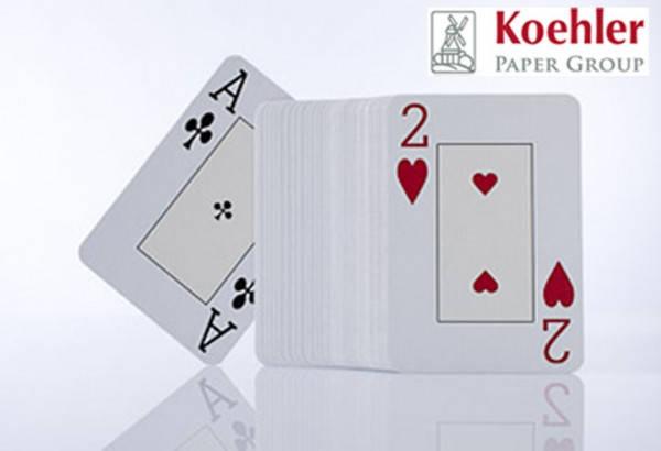 Дизайнерский картон Casino Classic (August Koehler AG), белый, 310 гр/м2
