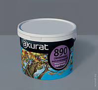 Фасадная силиконовая краска АКУРАТ 890 высоконаполненная supermatt.