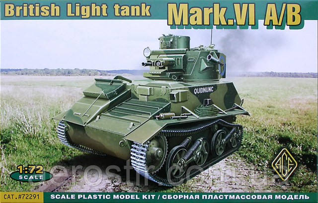 Mark.VI A/B 1/72 ACE 72291