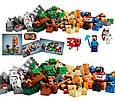 """Конструктор лего майнкрафт Аналог Lego Minecraft Bela 10177 """"Minecraft 8 в 1"""" 517 дет, фото 5"""