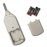 Профессиональный цифровой шумомер Benetech GM1357 ( AR824 ) (30 - 130dB), фото 6