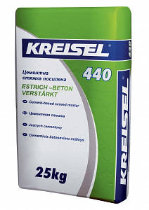 Стяжка цементна посилена для підлоги KREISEL ESTRICH-BETON 440