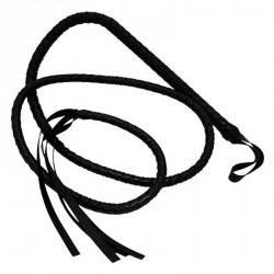Плетка для утех длинная Черная, фото 2