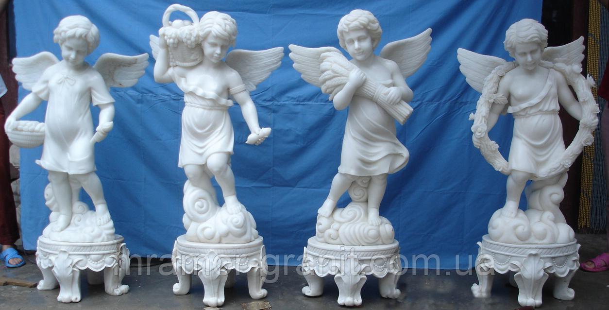 Скульптуры ангелочков С - 156
