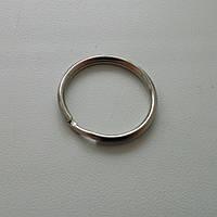 Кольцо заводное для ключей 24 мм, никель