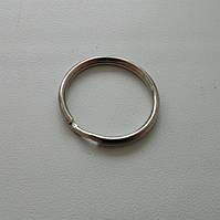 Кольцо для ключей 24 мм никель