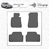 Коврики резиновые в салон BMW X1 (E84) с 2009 (2шт) Stingray