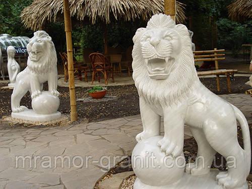 Скульптуры львов С - 161