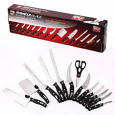 Набор ножей Miracle Blade World Class (Мирэкл Блэйд) 12 шт плюс кухонные ножницы., фото 2