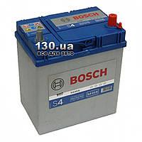 Автомобильный аккумулятор Bosch S4 Silver (0092S40180) 40 Ач «+» справа для азиатских автомобилей