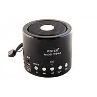 Портативная колонка MP3 от USB FM WS-A8 Black