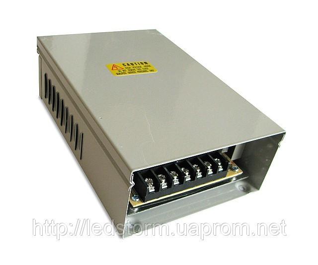 Блок питания 12V 400Вт  Всепогодный Standart