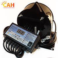 Комплект автоматики: блок управления Nowosolar PK-23 PID и вентилятор наддува Nowosolar NWS 75/P